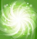 Green bright background with twist vector illustration eps Royalty Free Stock Photography