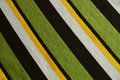 Green, Brown, White, Yellow Striped Background Royalty Free Stock Photo