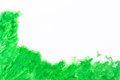 Green brush texture paint strokes Royalty Free Stock Photography