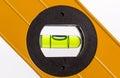 Green bubble level Royalty Free Stock Photo
