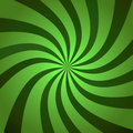 Green Burst Twist Stock Photos