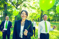 Green Business Team Environment Friendly Concept Royalty Free Stock Photo