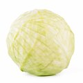 Green cabbage isolated Royalty Free Stock Photo