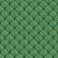 Green canvas slanting pattern background or abstract texture Royalty Free Stock Image