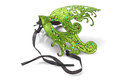 Green Carnival Mask Royalty Free Stock Photo