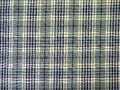 Green checked fabric Royalty Free Stock Images