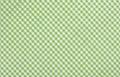 Green checkered fabric Royalty Free Stock Photo