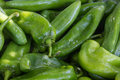 Green Chile Peppers Royalty Free Stock Photo