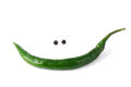 Green chili pepper Royalty Free Stock Photography