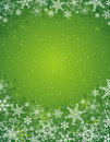 Green christmas background,  Stock Image