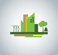 Green city design Royalty Free Stock Photo