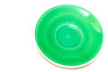 Green color dish Royalty Free Stock Photo