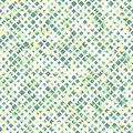 Green color seamless pattern with rhombuses, abstract design geometrical Royalty Free Stock Photo