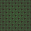 Green colors pattern korean traditional pattern pinwheel design series Royalty Free Stock Photos