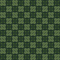 Green colors square grid pattern korean traditional design series Royalty Free Stock Photos