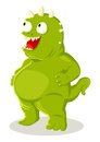 Green Creature Royalty Free Stock Images