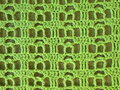 Green crochet texture suitable as background Royalty Free Stock Photography