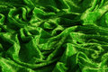 Green crushed velvet Royalty Free Stock Photo