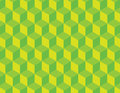 Green Cube Vector Pattern Royalty Free Stock Photo