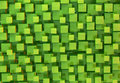 Green cubes abstract background Royalty Free Stock Photo