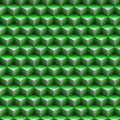 Green cubic texture Royalty Free Stock Photo