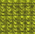 Green curtain with pattern luxury of color abstract background Royalty Free Stock Photo