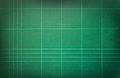 Green cutting mat can be use as background Stock Photography