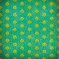 Green damask grunge wallpaper Stock Image