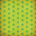 Green damask grunge wallpaper Royalty Free Stock Photo