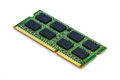 Green ddr ram stick on isolated background close up double data rate random access memory Royalty Free Stock Photography