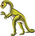 Green Dinosaur Stock Photo