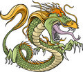 Green Dragon Vector Stock Photos