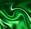 Green drapes Royalty Free Stock Images