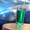 Green drink Royalty Free Stock Photography