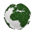 Green earth Royalty Free Stock Photo
