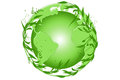 Green earth symbolizes greenery for healthy living Royalty Free Stock Photo