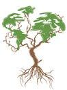Green earth tree Royalty Free Stock Photo