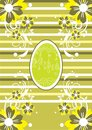 Green Easter background Stock Photo