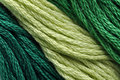 Green Embroidery Thread Royalty Free Stock Photo