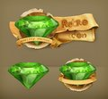 Green Emeralds Icons