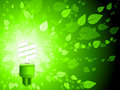Green energy background Royalty Free Stock Images