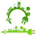Green Energy City Banner