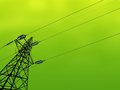 Green energy the concept of ecological planet clean and Royalty Free Stock Photos
