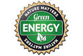 Green Energy Label Royalty Free Stock Images