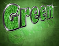 Green environmental theme Royalty Free Stock Images