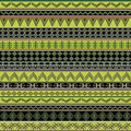 Green ethnic african texture Royalty Free Stock Photography