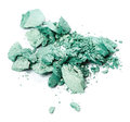 Green eye shadow Royalty Free Stock Photo
