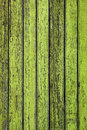 Green fence texture of wooden old planks Stock Images