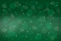 Green Festive Christmas background. Royalty Free Stock Photo