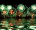 Green Fireworks